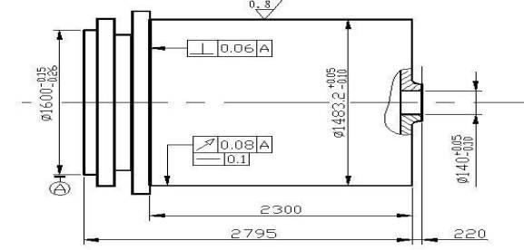 一米卧式车床电路图纸