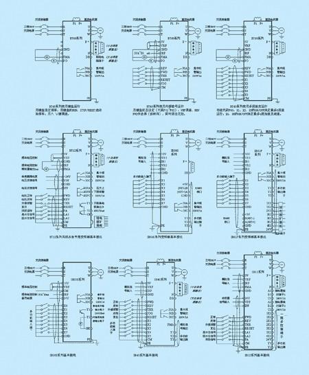 变频器装按扭开关接线图
